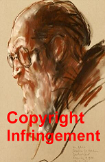 Copyright infringement and the elimination of Stanley Roseman's signature from his drawing