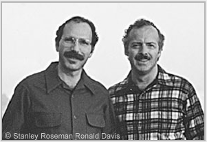 Stanley Roseman and Ronald Davis, Mont-Pèlerin, Switzerland, 1985. © Stanley Roseman and Ronald Davis